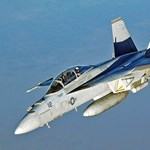 Lezuhant az amerikai haditengerészet egyik vadászgépe