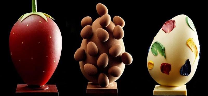 Ilyen húsvéti tojásokat még nem láttunk