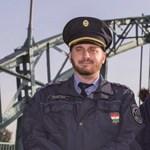Wesselényi Miklós főtörzsőrmester kimentett egy embert a Dunából