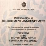 San Marinóban önből is lehet Matolcsy György