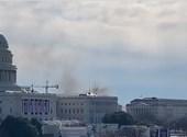 Tűz volt a Capitoliumnál, lezárták és evakutálták a nyugati szárnyat