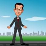 Online játékban ütlegelik a törökök Sarkozyt