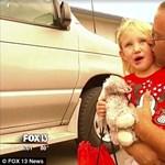 Videó: a pillanat, amikor újra látja a családját az elrabolt 4 éves kislány