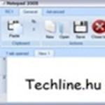 Legyen Windows 7 kinézetű jegyzettömbje!