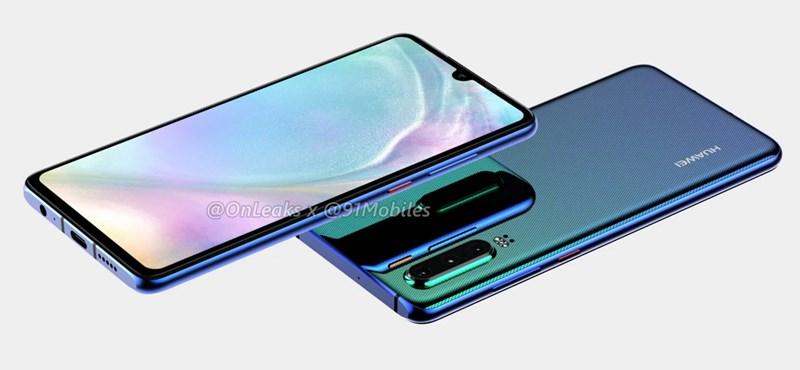 Olcsó lesz, de jól fog fotózni: a Huawei P30 lite megkapja a triplakamerát