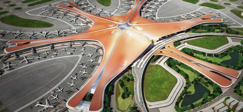 Elkészült a világ legnagyobb repülőtere, 100 millió utast szolgál ki
