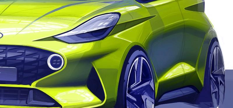 Kicsit raliautós lesz az új Hyundai i10