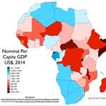 Így még nem látta Afrikát - térkép