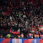Hungarian Ultras clash with police at Wembley