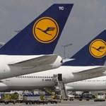Tízmillió eurókat bukott a Lufthansa a frankfurti sztrájk miatt