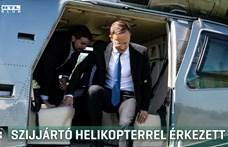 ORFK: Szijjártó hétszer repült rendőrségi helikopterrel