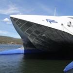 Videó: a világ leggyorsabb hajója