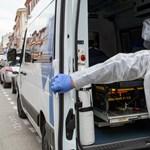 Több mint 13 ezer új fertőzöttet regisztráltak Franciaországban egy nap alatt