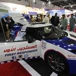 Lotus Evora S: a dubaji mentősöké a világ leggyorsabb orvosi autója - fotók