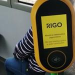 Budapesti trolin észleltünk e-jegy-automatát