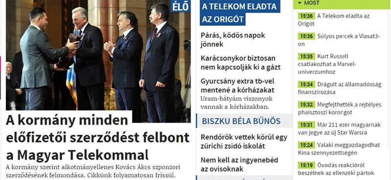 Itt a bejelentés: 4,2 milliárdért adja el az Origót a Telekom
