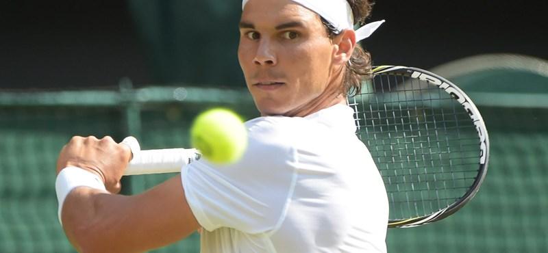 Nadal vakbélgyulladással lépett pályára, ki is esett