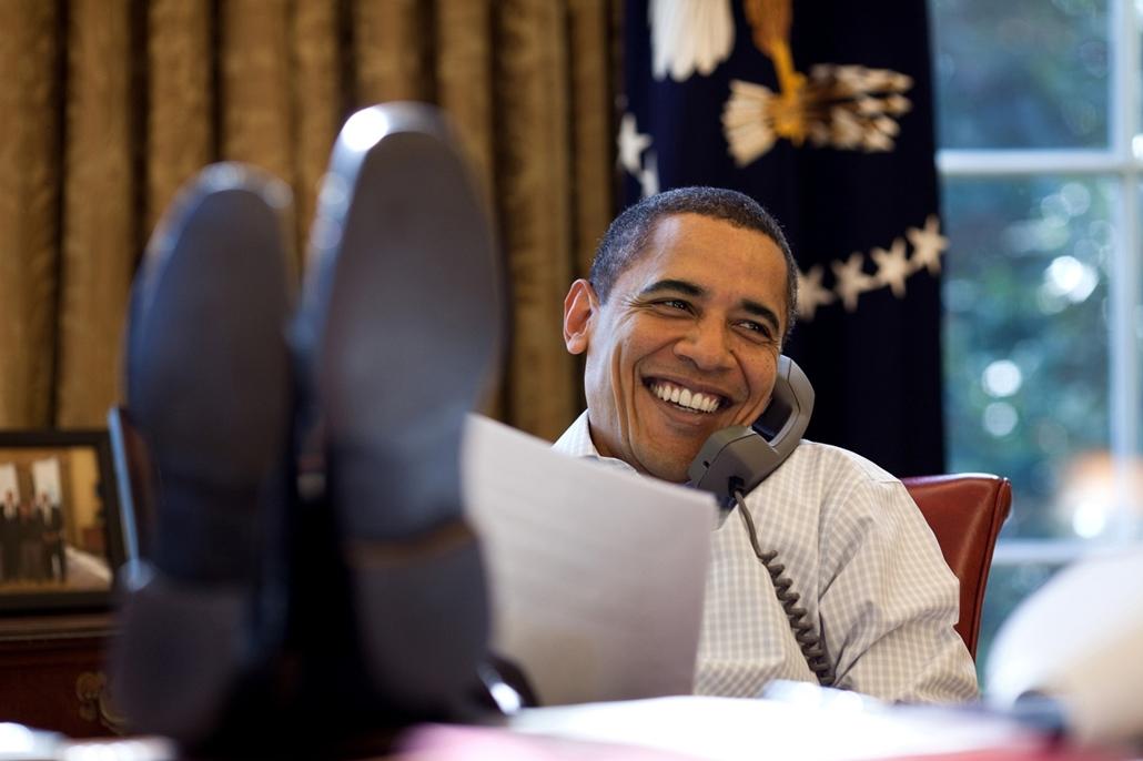 lehetőleg ne - flickrCC_! - 09.12.12. - Wasington USA: Megbeszélés Dmitrij Medvegyev orosz elnökkel 2009. december 12-én. - Barack Obama nagyítás