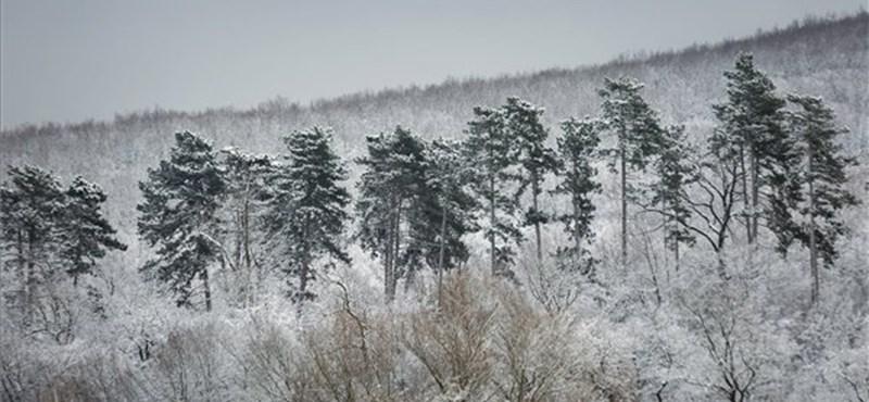Éjszaka újabb havazás jön, elsősorban északon alakulhat ki hótakaró – térkép