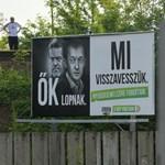 Plakátháború: Maradt még fegyvere a Fidesznek a Jobbik ellen