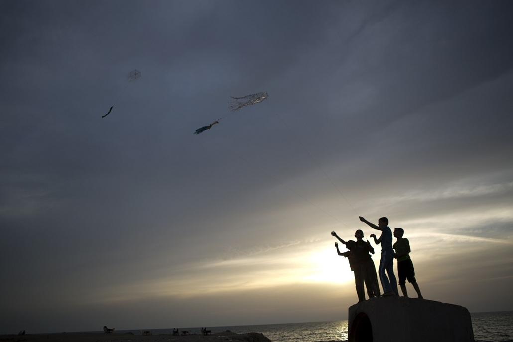 afp. nagyítás - hét képei - 2014.05.29. Gáza, gyerekek
