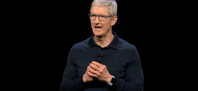 Tim Cook: Tényleg nem fogynak olyan jól az új iPhone-ok