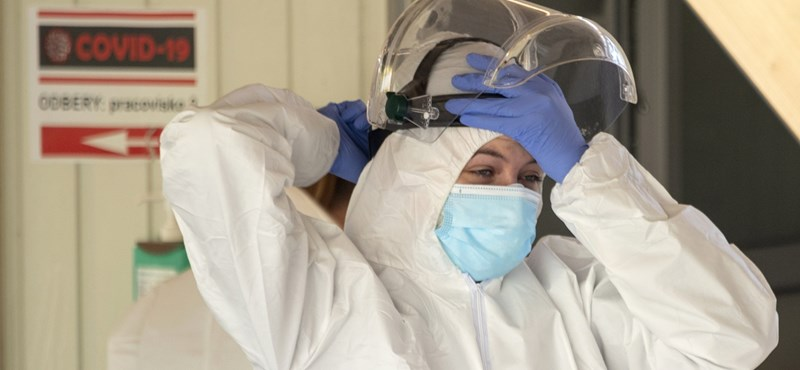 Szlovákiában megugrott a járványban elhunytak és a fertőzöttek száma