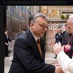 Orbán Rómában benézett a pápához is