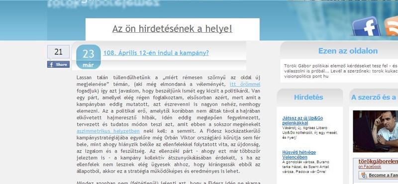 Török Gábor: szétszakadhat a Jobbik