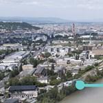 Fotók: Így nézne ki az új budapesti Duna-híd