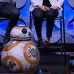 """Videó: Élőben is bemutatkozott a Star Wars híres """"labda-droidja"""", BB-8"""