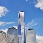 Fotó: New Yorkban újranyitott a WTC