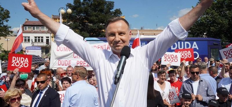 Lengyelország: az elnök várhatóan marad