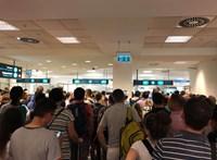 Kétszer annyit várt belépésre Ferihegyen, mint amennyi a repülőút volt