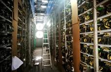 Bezártak a bitcoinbányák Kínában