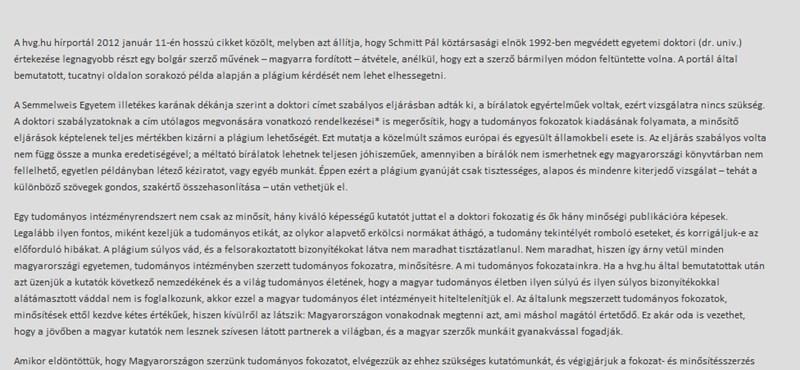 Petíciót nyújtottak be a Schmitt-botrány miatt