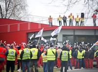 Az Audis dolgozók egy hétnél tovább is készek sztrájkolni