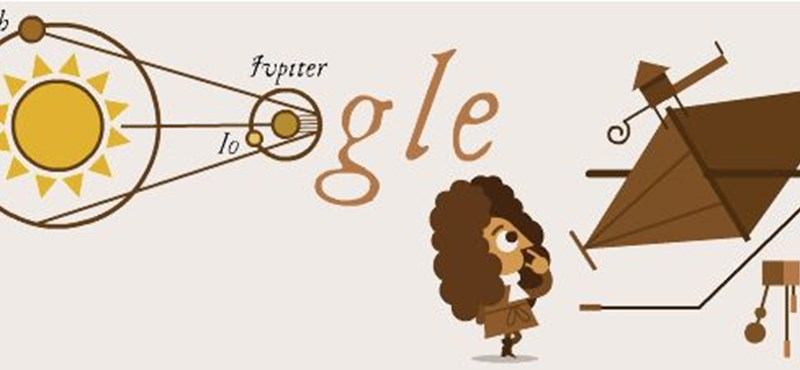 Miért van ma ez a parókás férfi a Google-kereső főoldalán?