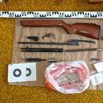 Elkapták a lakása ablakából távcsöves légpuskával lövöldöző férfit