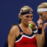 US Open: a negyeddöntőben estek ki Babosék