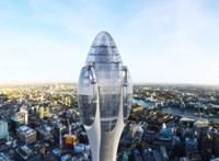 Rekordmagas felhőkarcoló épülhet hamarosan London szívében – fotók, videó