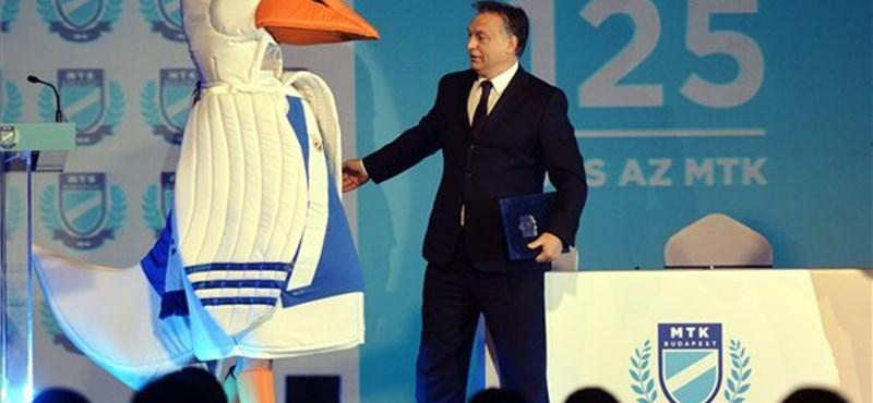 Orbán milliárdokkal segíti ki az MTK-t