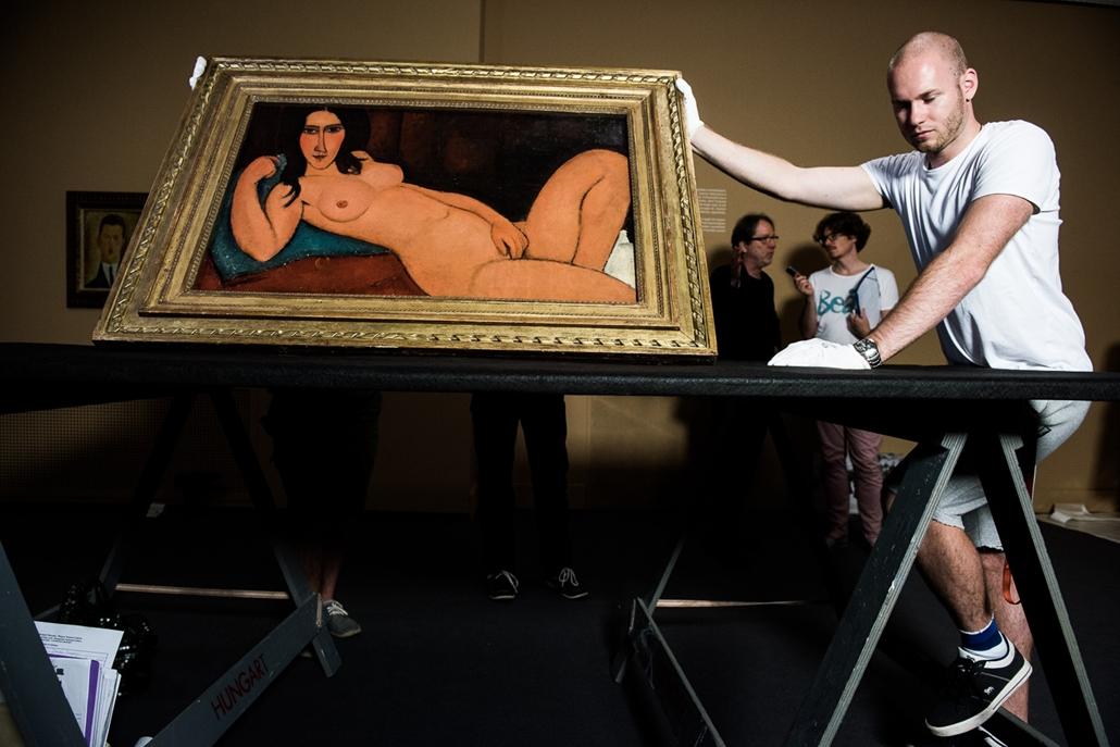 SA, Modigliani, Nemzeti Galéria, 2016.06.23.