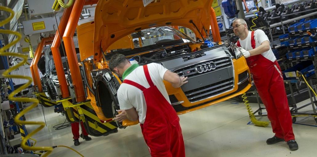 Audi gyár Győrben