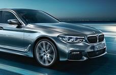 Hibrid technikát kapott a BMW 520d