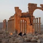 Az Iszlám Állam óriási fegyverraktárára bukkantak Palmürában