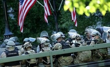 Tüntetőktől kaphatták el a koronavírust az amerikai Nemzeti Gárda tartalékosai