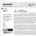 Szuverén: Mit akar a kormány az Alkotmánybírósággal?