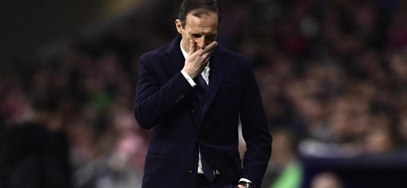 Allegri távozik a Juventustól