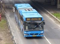 Részeg volt a sofőr a 200E repülőtéri buszon